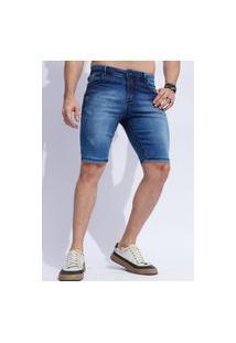 Bermuda Jeans Reta Masculina Vt890902
