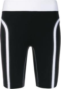 No Ka' Oi Legging Com Detalhe De Costura - Preto