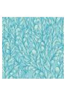 Papel De Parede Adesivo - Folhagem Azul - 050Ppn