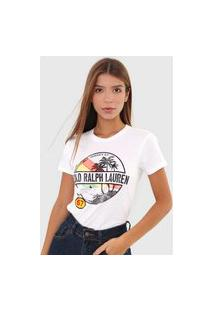 Camiseta Polo Ralph Lauren Jamaica 67 Branca