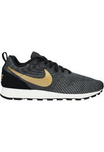 Tênis Nike Md Runner 2 Preto/Dourado - 39