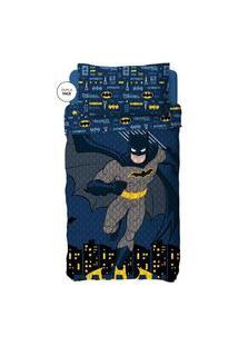 Colcha Dupla Face Infantil Batman Lepper