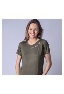 T-Shirt Starbox Visco Love Verde Militar