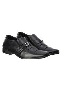 Sapato Social Masculino Confortável Macio Leve Clássico Preto 41 Preto
