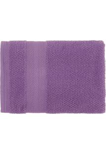 Toalha De Rosto Empire 48X70 - Karsten - Púrpura
