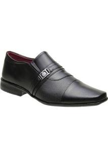 Sapato Social Torani Capri Masculino - Masculino-Preto