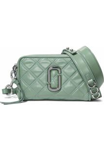 Marc Jacobs Bolsa The Softshot Matelassê - Verde