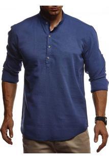 Camisa Dublin - Azul Escuro Xg