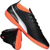 d91650641b Chuteira Puma One 18.4 It Futsal Preta