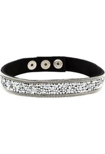 Manokhi Choker 'Midnight' - Preto
