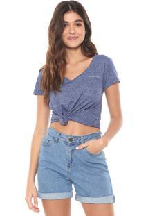 Camiseta Aeropostale Lisa Azul