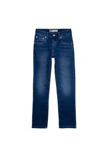 Calça Jeans Levis 511 Slim Infantil - 20002 Azul