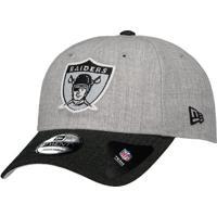 Boné New Era Nfl Oakland Raiders 920 Cinza 29d90a78d87