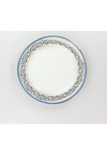 Conjunto De Pratos Para Sobremesa Porcelana Schmidt 06 Peças - Dec. Júlia