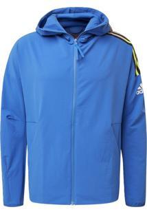 Jaqueta Adidas M Zne Hd Wvn Azul
