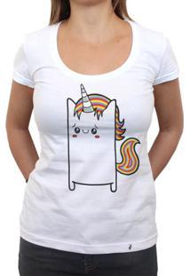 Uni Cuti Córnio - Camiseta Clássica Feminina