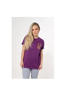 Camiseta Yellou Reta Roxa