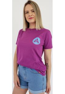 T-Shirt Aero Jeans Roxa
