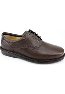 Sapato Masculino Opananken Couro - Masculino-Café