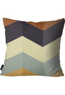 Capa Para Almofadas Mdecor Geométrica Multicolorido