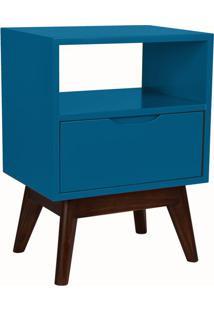 Mesa De Cabeceira On 1 Gv Azul E Preta