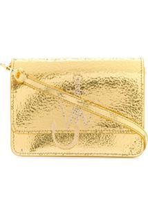 Jw Anderson Anchor Logo Bag - Dourado