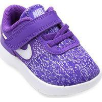 6b12d38af5 Tênis Infantil Nike Flex Contact Tdv - Feminino-Branco+Roxo