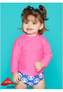 Camiseta Baby Lisa Menina 3 A 6