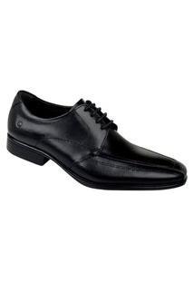 Sapato Social Democrata Masculino - Preto
