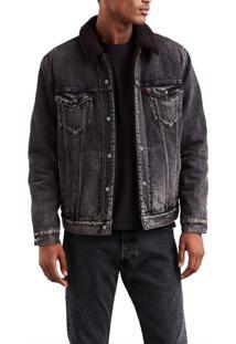 ae0b3a50b59bf Jaqueta Jeans Levis X Justin Timberlake Sherpa Trucker - L