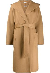 P.A.R.O.S.H. Trench Coat Oversized - Marrom