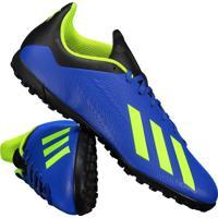 123a47712a8da Chuteira Adidas X Tango 18.4 Tf Society Azul
