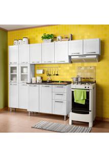Cozinha Compacta Multipla 14 Pt 2 Gv Branco