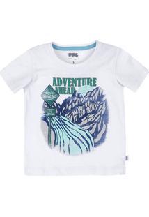 d282647c012 Camisa Polo Bebê Menino Em Malha De Algodão Piquet Estampada Puc