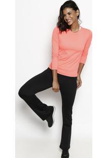 Camiseta Running Com Fps 50+® - Laranja Neonfila