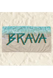 Toalha De Praia Brava Pump Up
