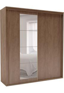 Guarda-Roupa Casal Inovatto Com Espelho 2 Pt 6 Gv Ébano