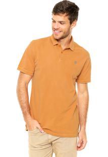 8d53b52e2a Camisa Polo Timberland Bordado Amarela