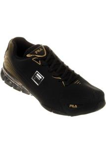 9cf7ed77d1a Tênis Fila Linea 2.0 Masculino - Masculino-Preto+Dourado