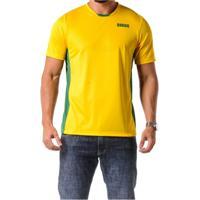 4be892d87a9a6 Camiseta Braziline Manga Curta Brasil Itaguaí Masc - Masculino