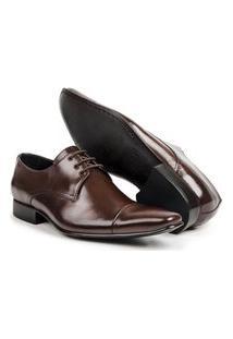 Sapato Social Aberdeen Masculino Couro De Amarrar