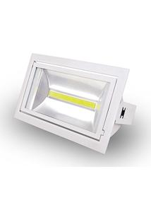 Refletor De Led Embutir Interno 30W Luz Branca