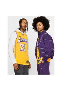 Regata Nike Lebron James Lakers City Edition Unissex