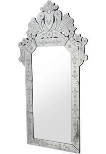 Espelho Magno- Espelhado & Cinza- 120X60X2Cmrivatti