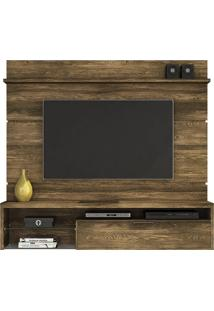 Home Painel Suspenso Persa Para Tv 65 Pol Canela Rústico Colibri