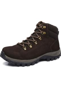 Bota Adventure Cano Alto Macboot Bongo 02 Café