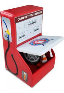 Baú Bomba De Gasolina - Vermelha - Cama Carro Do Brasil