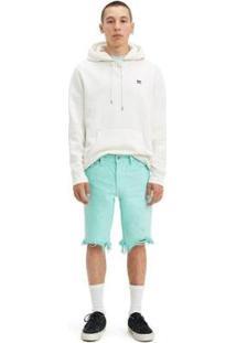 Bermuda Jeans Levis 511 Slim Cutoff - 20322 - Masculino-Verde