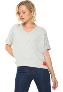 Camiseta Calvin Klein Underwear Canelada Cinza