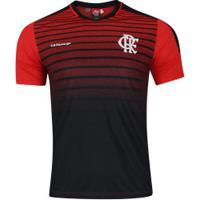 Camiseta Do Flamengo Strike - Masculina - Preto Vermelho 9c49b49125fa2